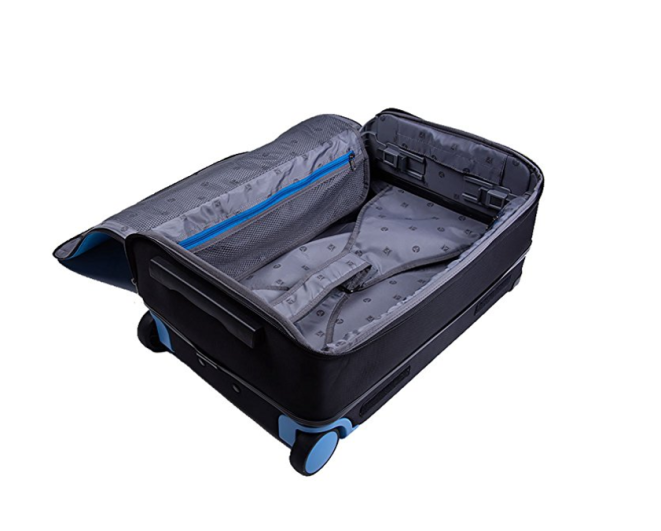 barracuda carryon luggage, best carry-on luggage, best carry-on expandable, best rockland carry-on