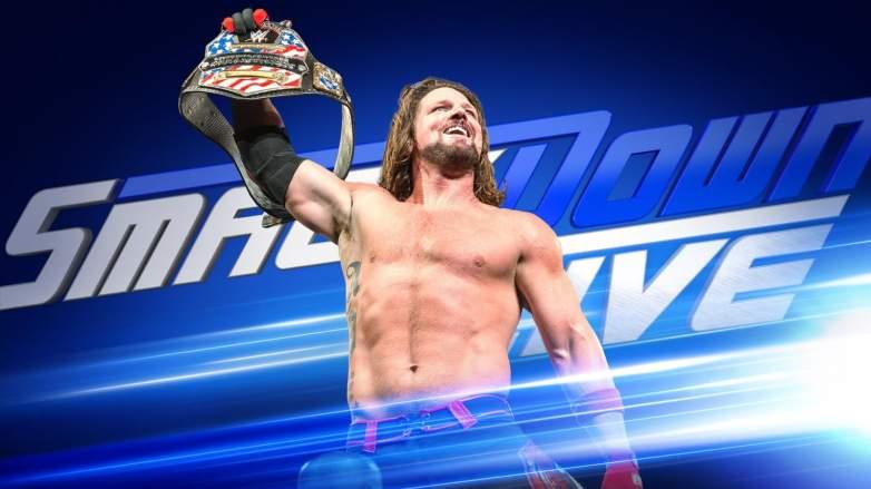 AJ Styles us championship, AJ Styles united states championship, AJ Styles wins united states championship