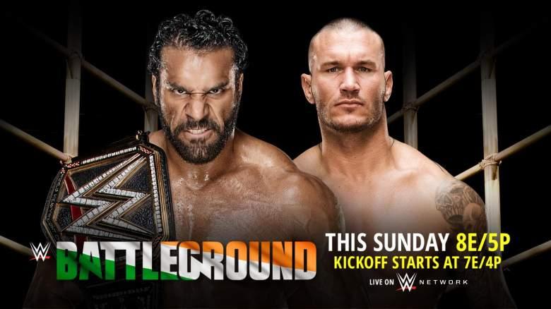 WWE Battleground, WWE Battleground 2017, jinder mahal randy orton battleground
