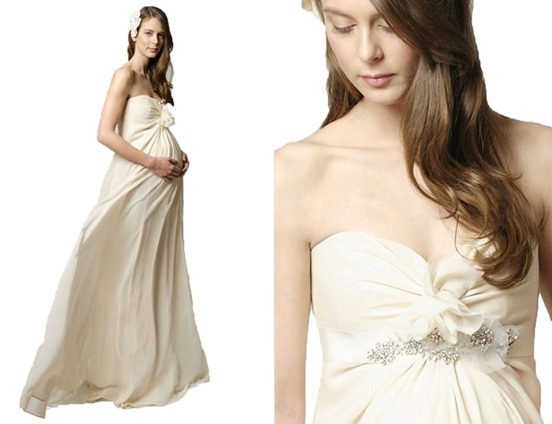 maternity wedding dress, maternity wedding dresses, pregnancy wedding dress, white maternity dress
