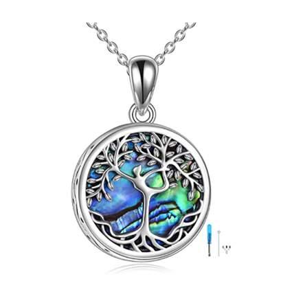 tree of life urn pendant