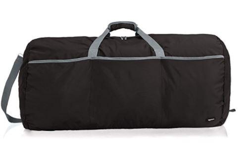 AmazonBasics large duffel, best duffel travel bags, best duffel bags planes, best vacation duffel bag