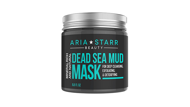 aria starr exfoliating dead sea mud mask
