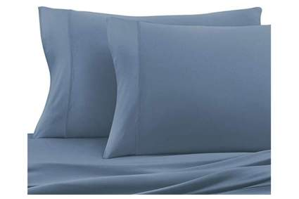 blu moisture wicking sheets
