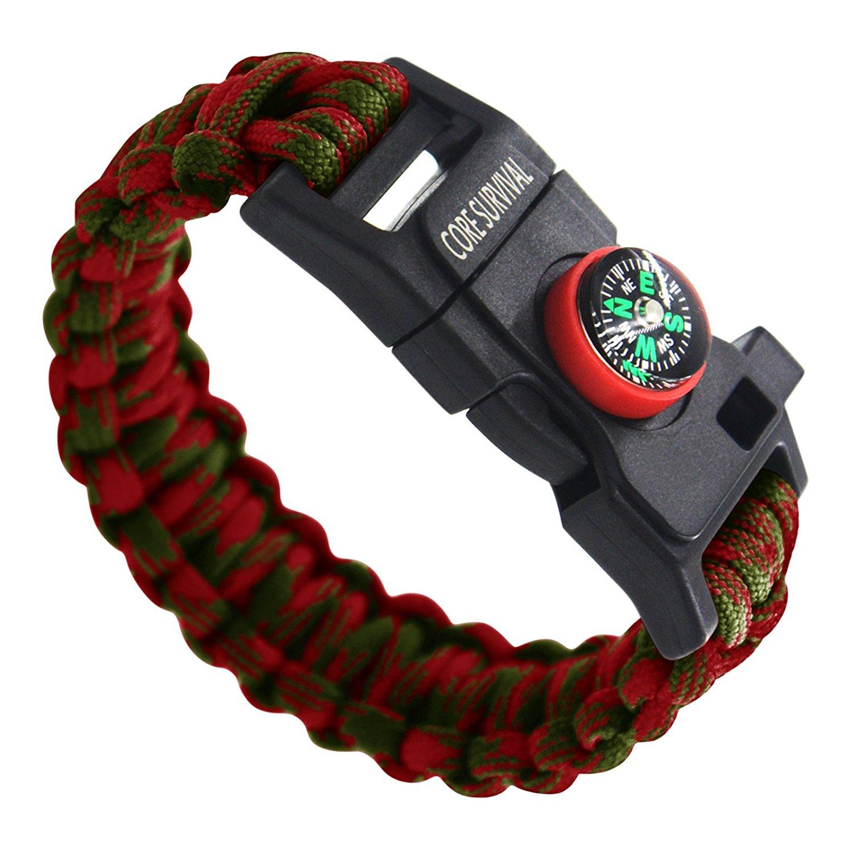 core survival, survival bracelet, survival, emergency prep, hiking
