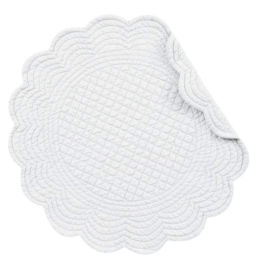 round placemats, quilted placemats