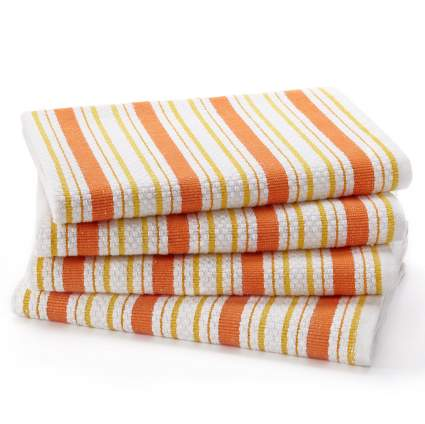 kitchen towels, hand towels, dish towels, striped towels