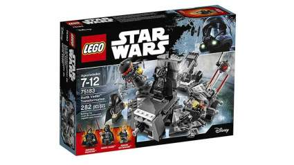darth vader lego transformation