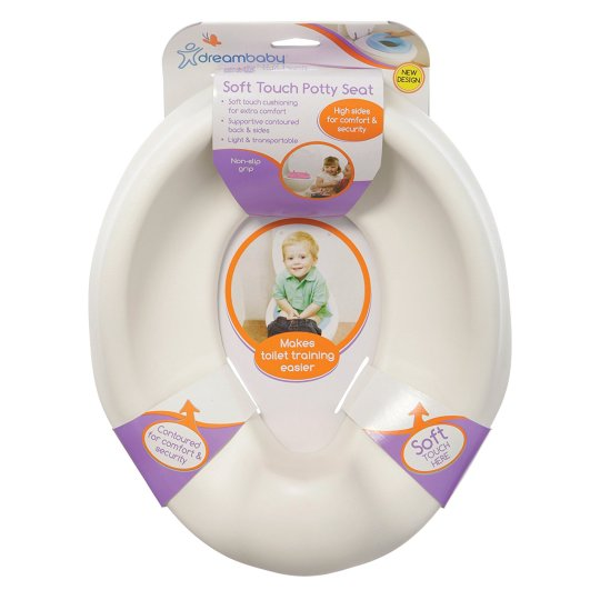 Dreambaby Soft Touch Potty Seat, best travel potty, travel potty, potty seat, travel potty seat, best portable potty, portable potty, affordable potty