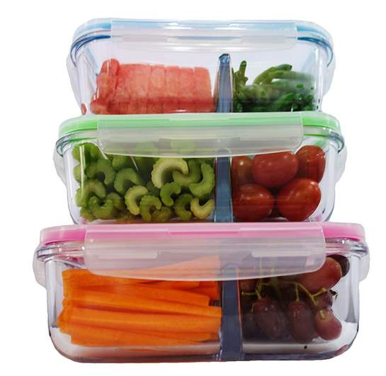 glass storage container, food storage container
