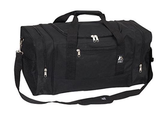 Everest luggage sporty duffel, best duffel travel bags, best duffel bags planes, best vacation duffel bag