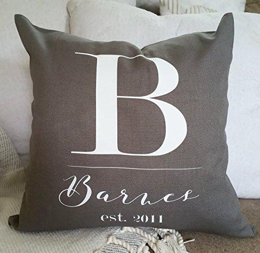 accent pillows, custom name pillow, throw pillow