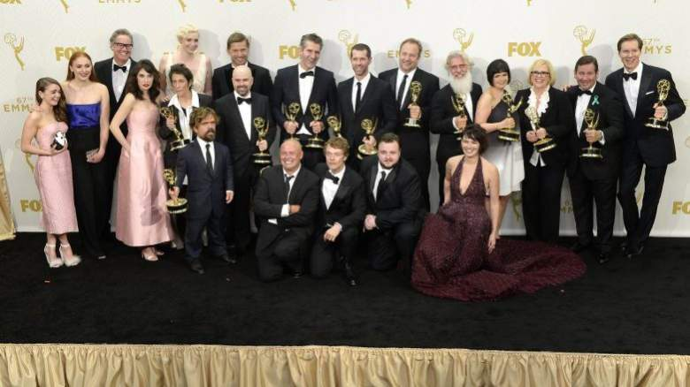 Game of Thrones cast, Game of Thrones emmys, Game of Thrones emmy press room