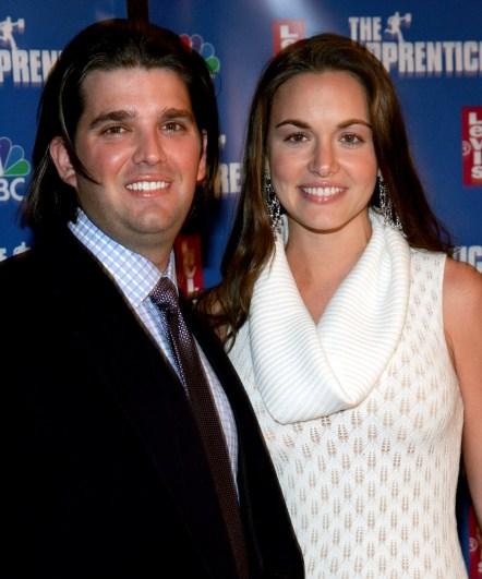 Donald Trump Jr timeline, Donald Trump Jr wife, Vanessa Haydon young