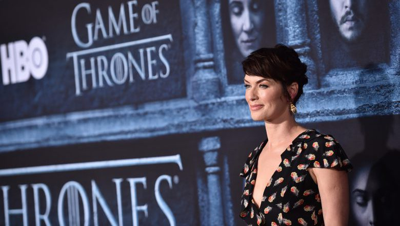 Lena Headey game of thrones, Lena Headey game of thrones premiere, Lena Headey game of thrones season 6 premiere