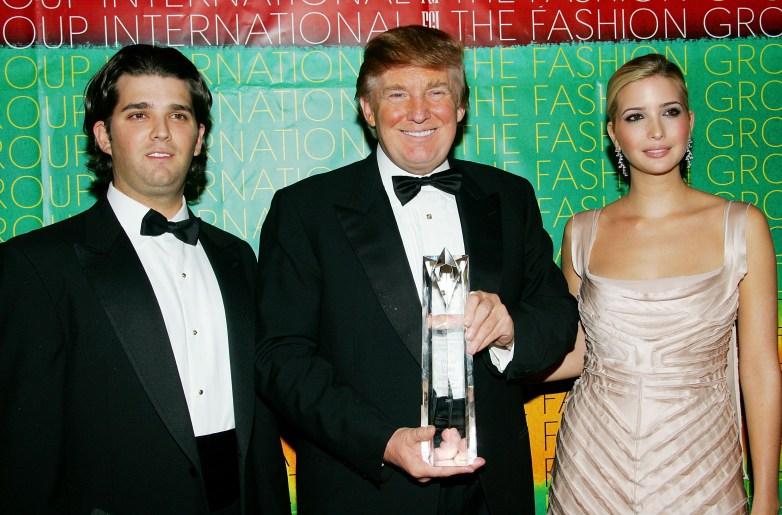 Donald Trump Jr. timeline, Donald Trump Jr., Donald Trump dad