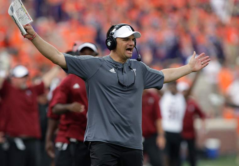 neal brown, troy, top new head coach