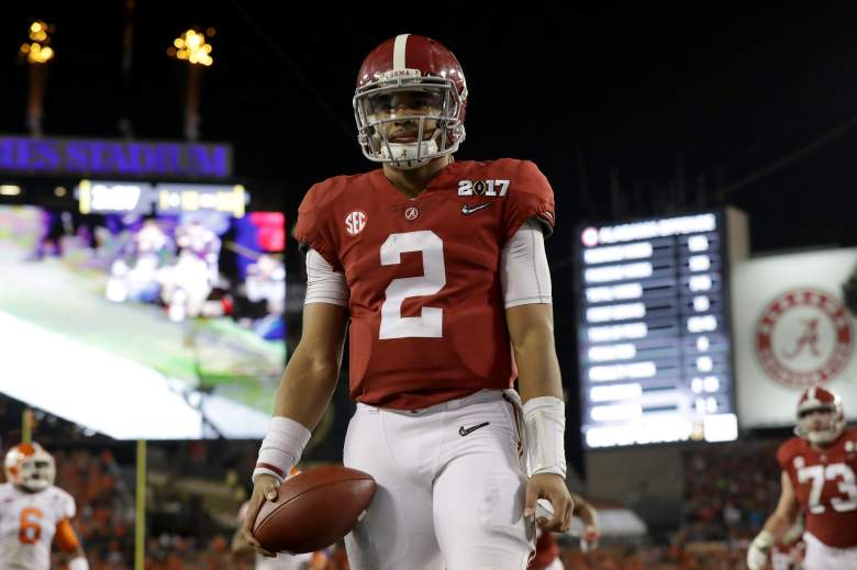 jalen hurts, alabama, college football power rankings, top best players