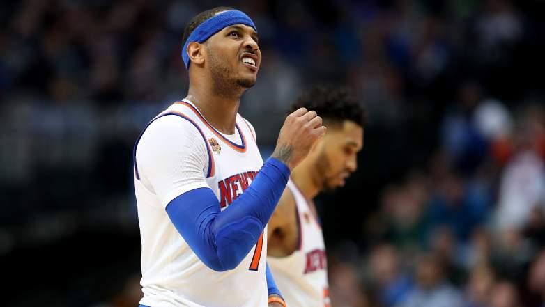 Carmelo Anthony traded, Carmelo Thunder
