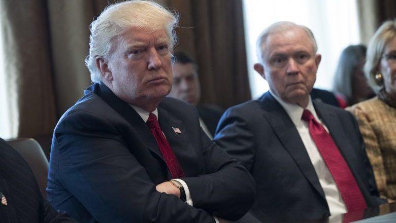 Donald Trump, Trump Jeff Sessions, Donald Trump Jeff Sessions white house