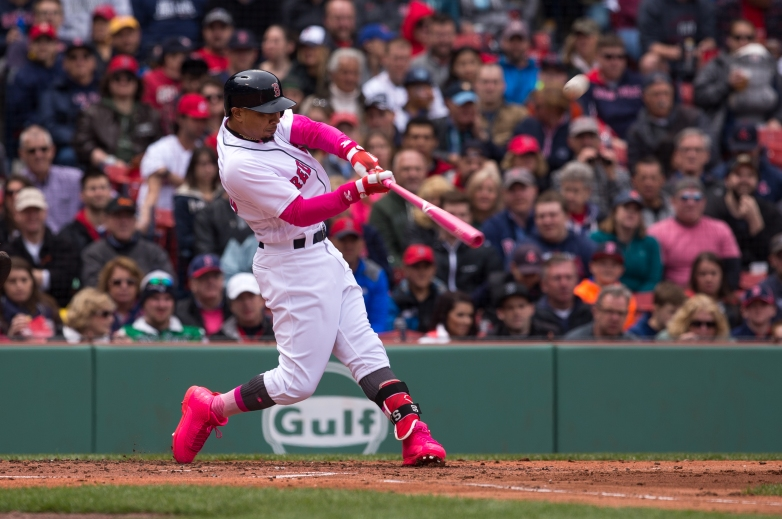 mookie betts red sox, mookie betts all star 2017