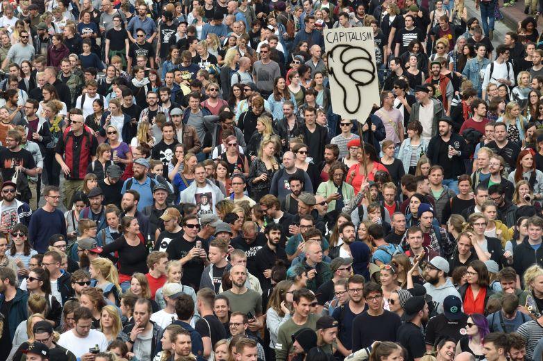 hamburg protest, g20 protest