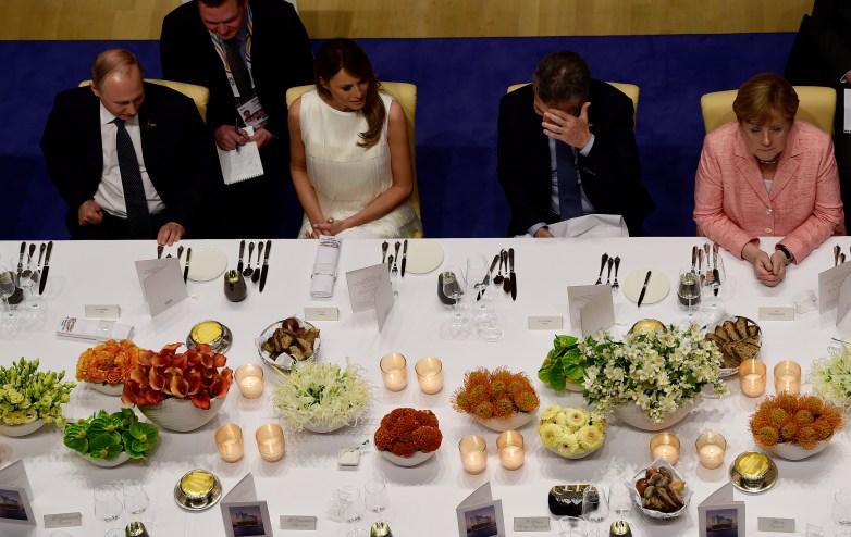 Melania Trump Vladimir Putin, Vladimir Putin Donald Trump, Putin G20, TRump G20