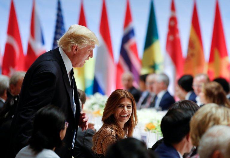 Donald Trump Juliana Awada, Who sat next to Donald Trump at G20, Donald Trump G20