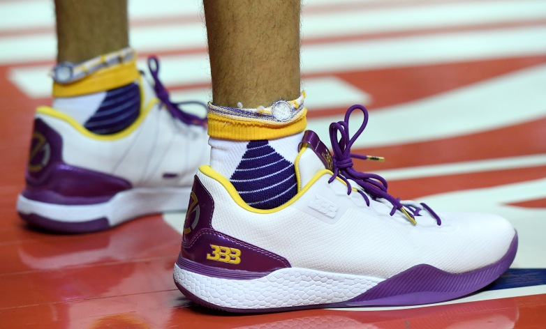 lonzo ball shoes, big baller brand, nike, adidas, under armour