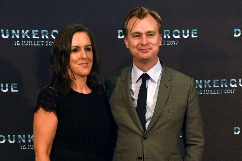 Christopher Nolan dunkirk, Emma Thomas christopher nolan, christopher nolan wife