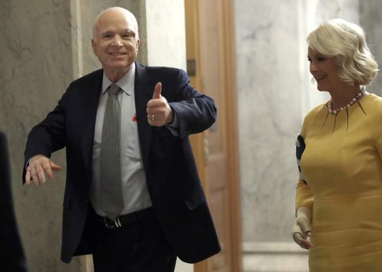 John McCain scar, John McCain Senate, John McCain health