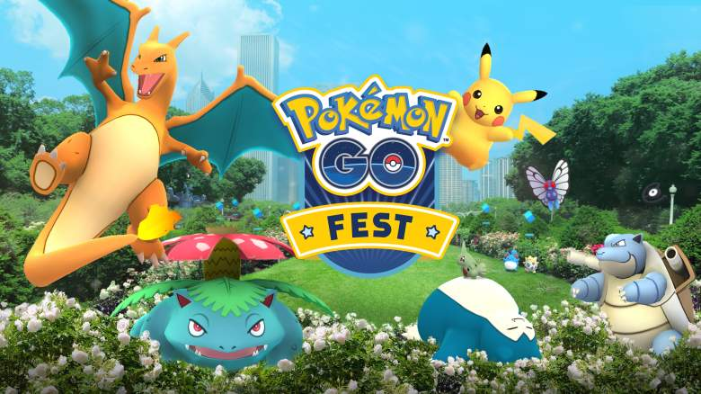 Pokemon Go Fest, Pokemon Go Fest chicago, Pokemon Go Fest chicago logo