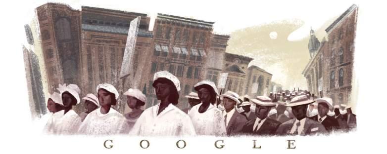 The silent parade, silent parade 1917