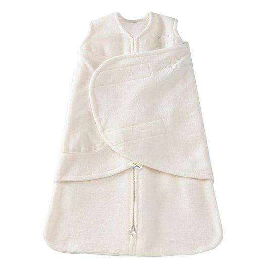 HALO SleepSack Micro-Fleece Swaddle, velcro swaddle, zipper swaddle, best baby swaddle, baby swaddle, fleece baby swaddle, white baby swaddle