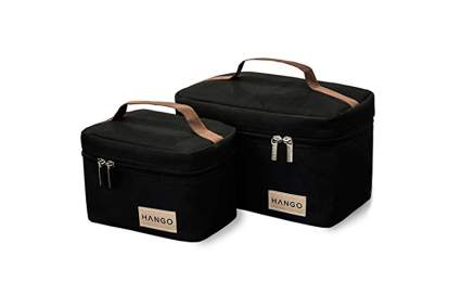 set of two insulated lunchboxes