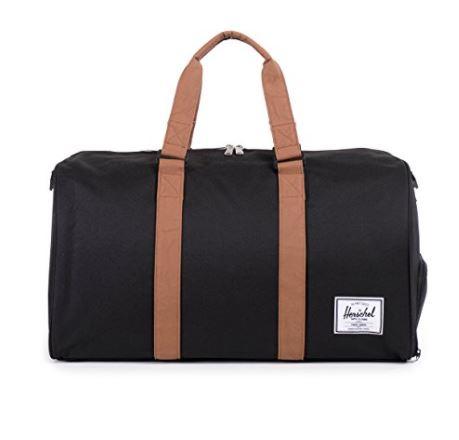 Herschel large duffel, best duffel travel bags, best duffel bags planes, best vacation duffel bag