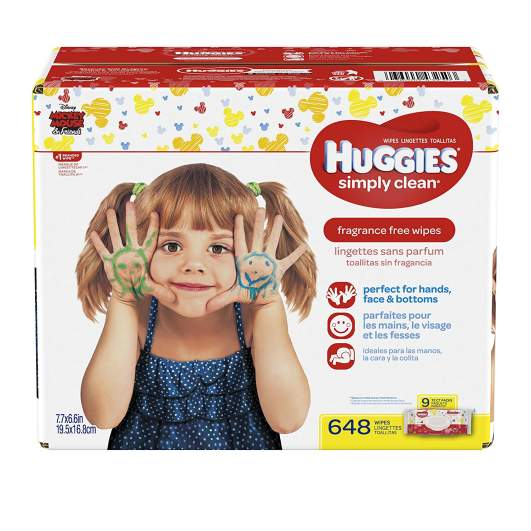 HUGGIES Simply Clean Baby Wipes, huggies wipes, best baby wipes, baby wipes, affordable baby wipes