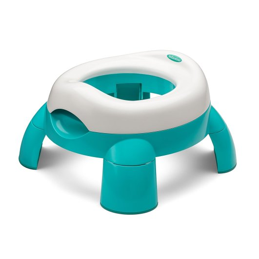 Infantino Up and Go Compact Travel Potty, travel potty, best travel potty, portable potty, best portable potty, toilet training seat, teal potty, blue potty, infantino potty