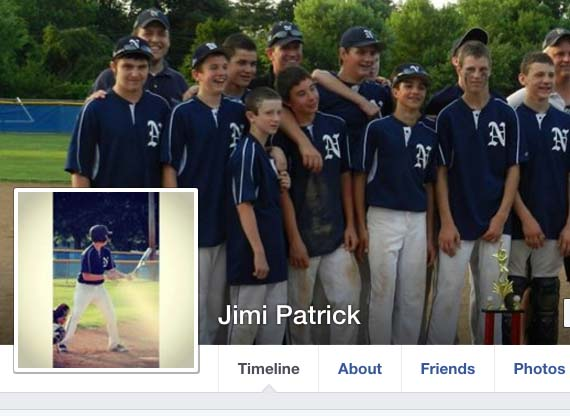 Jimi Tar Patrick Facebook page