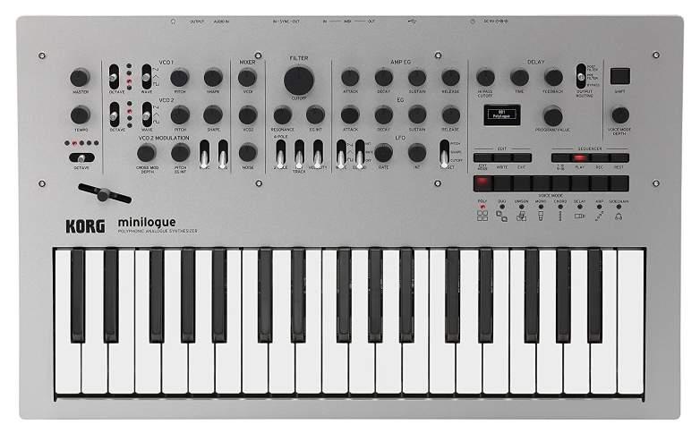 korg minilogue cheap analog, best cheap analog synth, affordable analog synth, cheap analog synthesizers