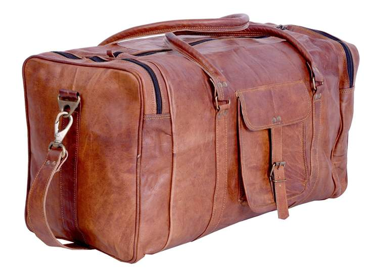 kp vintage leather duffel, best duffel travel bags, best duffel bags planes, best vacation duffel bag