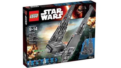 kylo ren's command shuttle kit