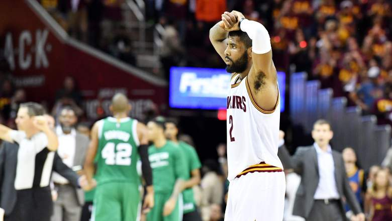 kyrie irving, trade, requests, rumors, nba, cavaliers