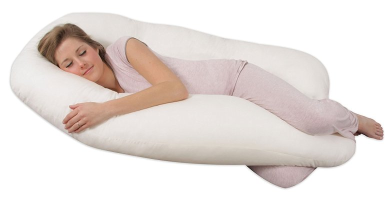 Leachco Back 'N Belly Contoured Body Pillow, pregnancy body pillow, best pregnancy body pillow, maternity pillow, best maternity pillow, maternity body pillow, u-shaped pregnancy pillow, full support pregnancy pillow, affordable pregnancy pillow