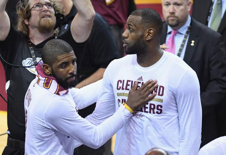 lebron, kyrie irving, trade rumors, nba