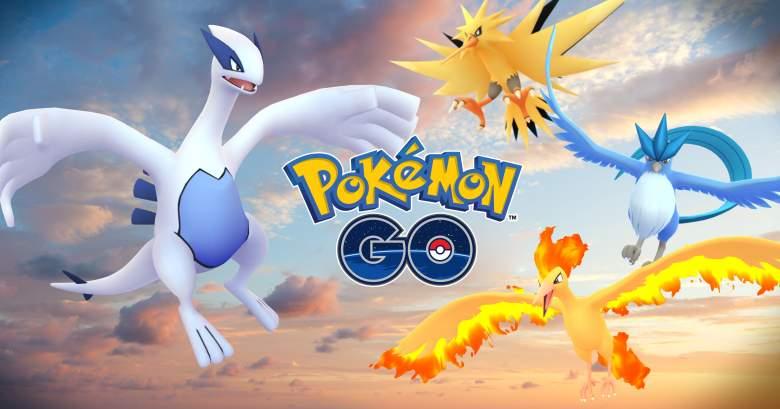 pokemon go, pokemon go legendaries, pokemon go legendary birds