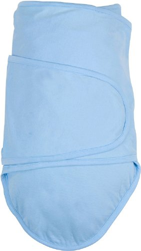 miracle blanket swaddle, best baby swaddle, baby swaddle, winged swaddle, blue swaddle