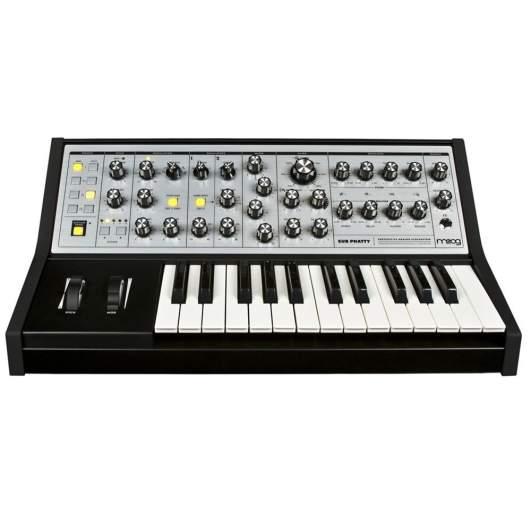 Moog subphatty analog, best cheap analog synth, affordable analog synth, cheap analog synthesizers