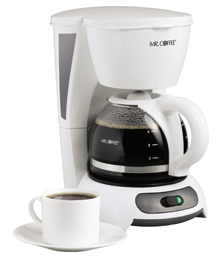 Mr. Coffee TF4 4-Cup Switch Coffeemaker