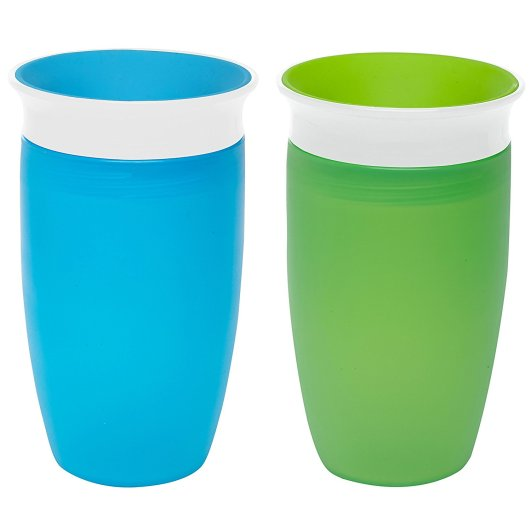 Munchkin Miracle 360 Sippy Cup (Set of Two), bpa free sippy cups, best bpa free sippy cups, plastic sippy cup, best sippy cups, munchkin sippy cup, sippy cup with no spout